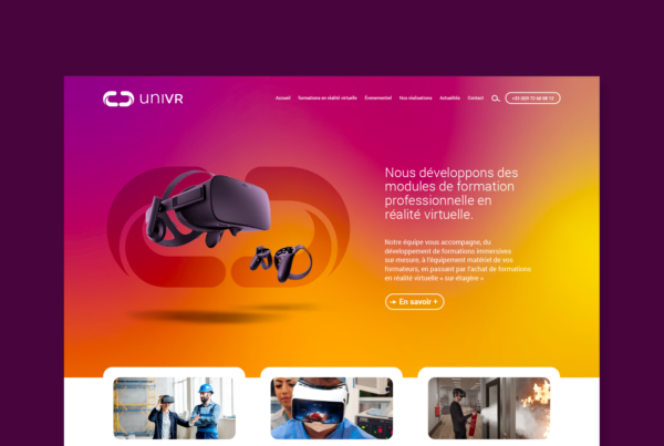 Homepage site internet uniVR
