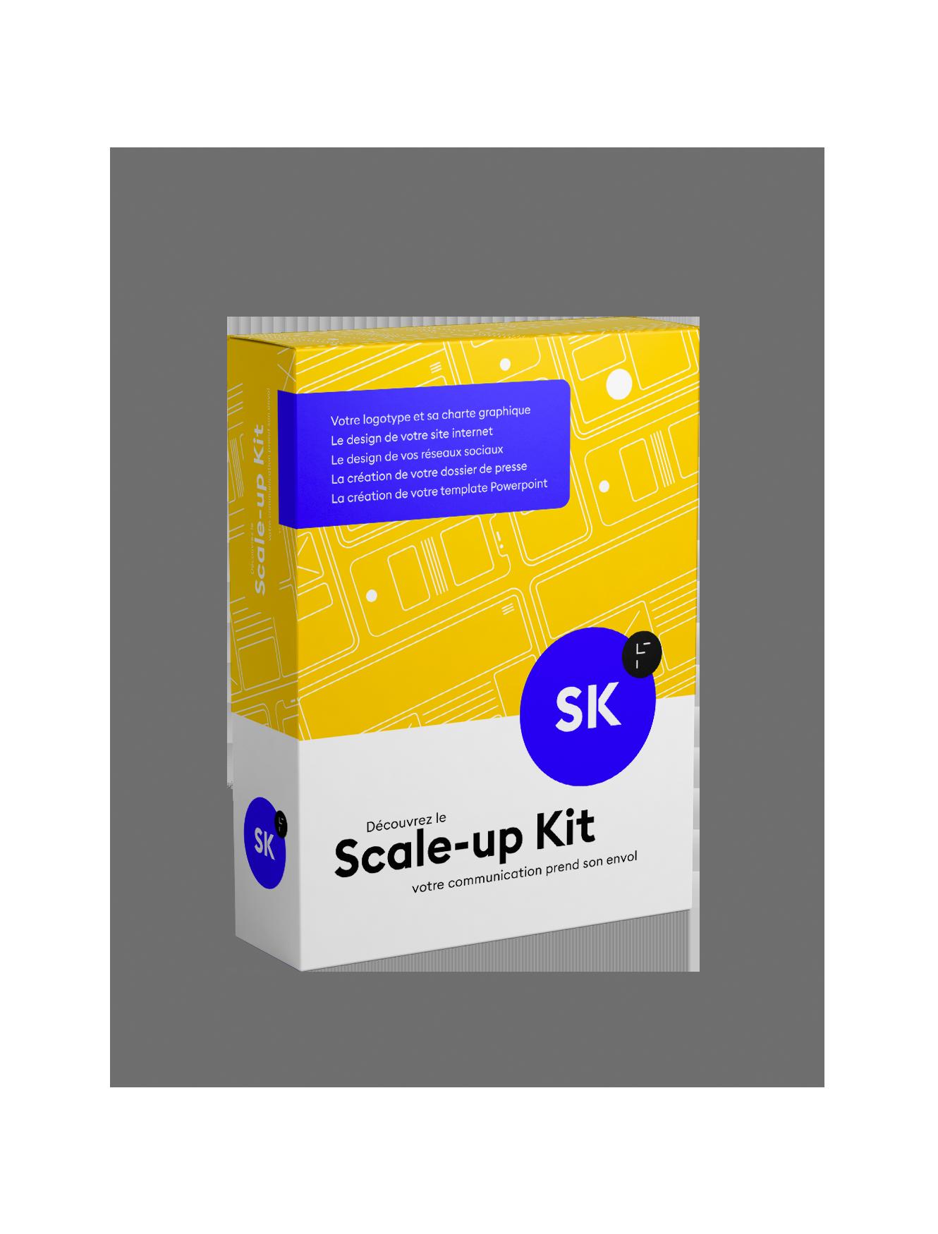Scale-Up kit, visuel de communication